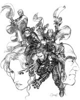 x-men by mistermoster