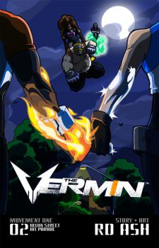 The Vermin #02 (Cover) by Dynamowolf