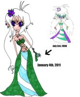 2008 to 2011 Transition by Tesuway-chan