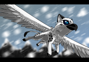 .:Blizzard Flight:. by ZIODYNES