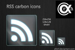 RSS carbon icons by ArXh