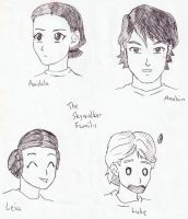 The Skywalker Family by freeza-frost