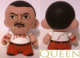Freddie Mercury Munny by Calcifer-Boheme