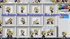 Hetalia Shimeji: Revolutionary War America by TionneDawnstar