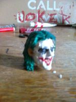 Joker Head by galis33