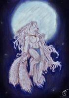 Lady of the Moonlight by Phantom--Wolf