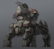 4 feet mech by ProgV