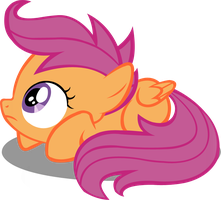 Scootaloo Vector by PetalFluff