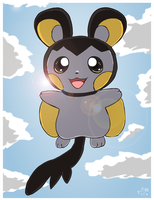 Cuteness from above by pichu90