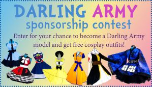 Darling Army Sponsorship Contest -Win Free Cosplay by DarlingArmy