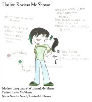 Hailey McShane Human side by ECookie