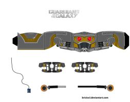 Star Lord accessories by briciocl