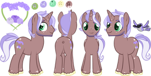 Lavender Berry Reference Sheet by oCrystal