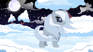 GIFT: As silent as ice, as mystic as the night by Derpyna