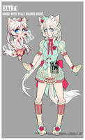 Adoptable(plus chibi) - SOLD by NauticalSparrow