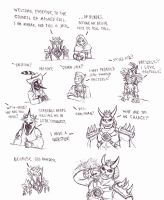 Council of Masked Evil: Roll Call of Evil by Cerberus123