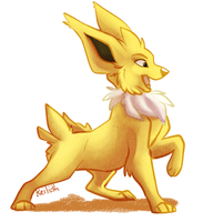Jolteon by KeilidhB
