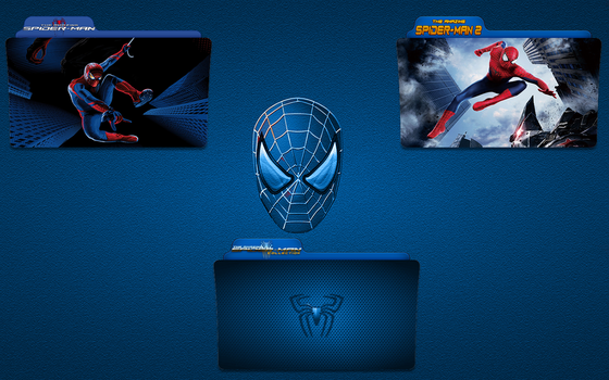 The Amazing Spider-Man Folder Icon Pack by gterritory