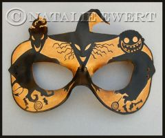 Lock Shock and Barrel Leather Mask by natamon