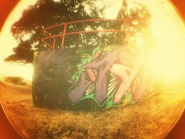 #007 - Half Pipe's Graffiti by breves333