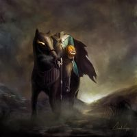 Headless horseman by Meteorskies