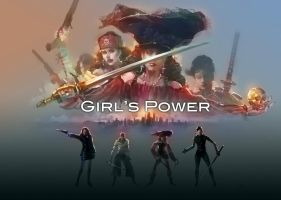 Girl's Power by zhuzhu