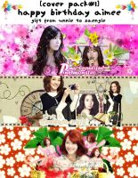 [Cover Pack#1] Happy Birthday Aimee by HanaBell1