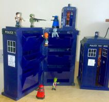 TARDIS container by Carnivius