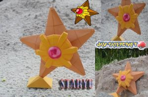 papercraft pokemon STARYU! by javierini
