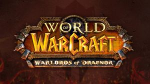 Warlord of Draenor - Logo Wallpaper by PaulWhipps