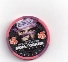 MGM EFX $5 Chip by Odogoo