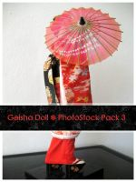 Geisha Doll Pack 3 by OnTheStock