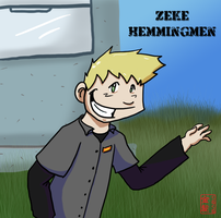 Zeke in Pallet by JinjoJess