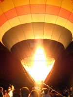 balloon glow 2009 by WhoeMelk13