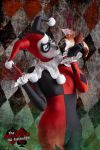 Harley Quinn Sideshow 1/6 Cosplay 3 by AlexWorks