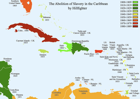 Abolition of Slavery Caribbean by Hillfighter