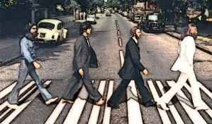 Abbey Road Sketch by TheBlueCasket