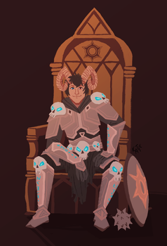 Commission - Throne by katiepox