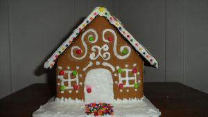 My Gingerbread House by courts1014