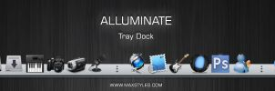 Alluminate tray dock by vStyler
