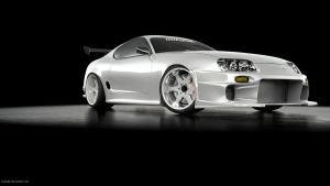 Supra turbo White by midoo55