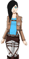 Charlotte AOT Oc by BrokenDeadMemories