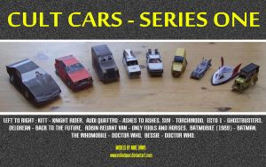 Cult Cars - Series One by mikedaws