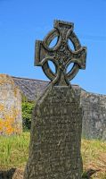 slate cross by awjay