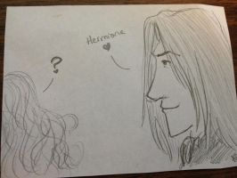 Snape Doodle 104 by dragoon811