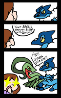 Pokemon X and Y reacttion:Frogadier by takeashley