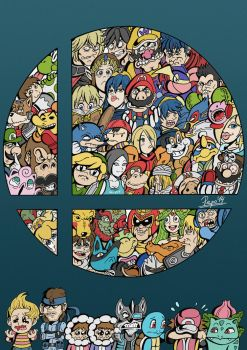 Super Smash Bros Wii U by Pepowned