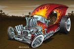 Flaming C Cab by Britt8m