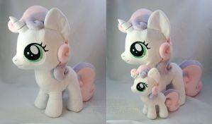 Giant Sweetie Belle by PlanetPlush