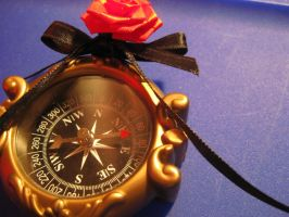 Red Rose Brooch by mad-hatter-inc